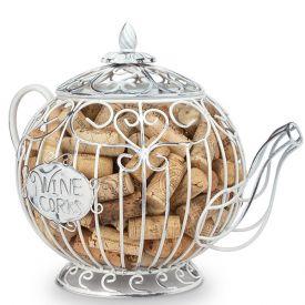 Enlarge 91-085 CORK CAGE® - Teapot