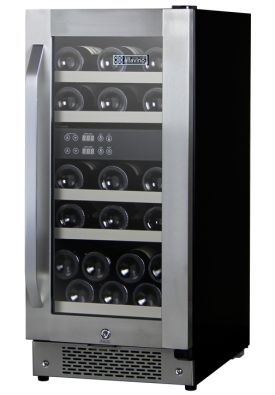 Enlarge Allavino AWR25-2SR-A - 27 Bottle Dual Zone Built-in Wine Refrigerator