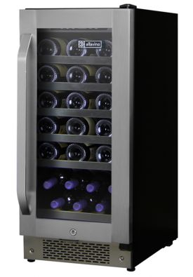 Enlarge Allavino AWR30-1SR-A   - 32 Bottle Built-in Wine Refrigerator - Angled Handle