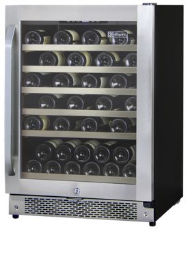 Enlarge Allavino AWR52-SRNA - 51 Bottle Built-in Wine Refrigerator - Stainless Steel Door with Angled Handle