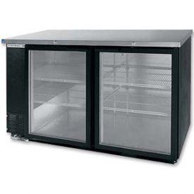 Enlarge Beverage-Air BB58G-1-B Back Bar Refrigerator w/Glass Doors - Black