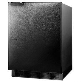 Enlarge Summit BI605B 6.0 cf Built-in Refrigerator-Freezer - Black