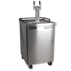 Enlarge Beverage-Air BM23-SS-2 Dual Faucet Keg Refrigerator - Stainless Steel