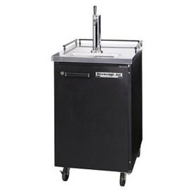 Enlarge Scratch and Dent - Beverage-Air Kegerator BM23-B Commercial Beer Cooler - Black Vinyl