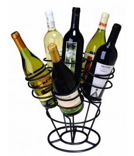 Enlarge Bottle Bouquet Wine Rack - Black