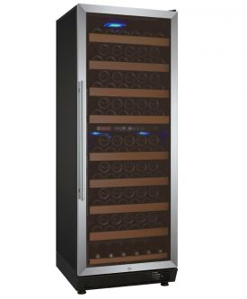 Enlarge Allavino YWR-28DZ-SRT Vite Series 99 Bottle Dual-Zone Wine Cellar Refrigerator - Stainless Door with Towel Bar Handle