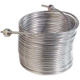 Enlarge Jockey Box Stainless Steel Cooling Coil, Right Hand, 50' x 5/16