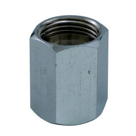 Enlarge Chrome Hex Adapter (1/2 x 5/8)