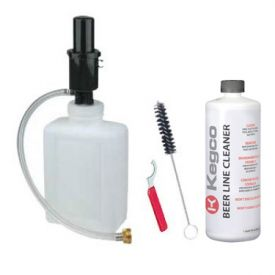 Enlarge Kegco Standard Beer Cleaning Kit - 2 Qt. Bottle w/ 33 oz. Cleaner