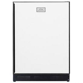 Enlarge Summit CT67 5.3 cf Refriegerator Freezer - White w/Custom Panel Door
