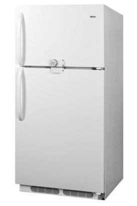 Enlarge Summit CTR21LLF 20.9 Cu. Ft. Frost-Free Refrigerator-Freezer w/ Front Lock