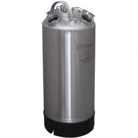 Enlarge Kegco 18 Litre Keg Beer Cleaning Can (install up to four different types of valves)