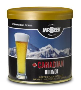 Enlarge Mr Beer Canadian Blonde Brew Pack