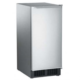 Enlarge Scotsman DCE33PA-1SSD Built-in Ice Maker - Stainless Steel w/ Drain Pump