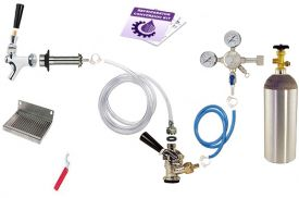 Enlarge Kegco Deluxe Door Mount Kegerator Keg Tap Conversion Kit