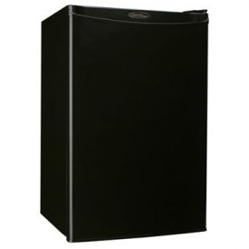 Enlarge Danby DCR122BLDD 4.3 Cubic Foot Counterhigh Compact Refrigerator - Black