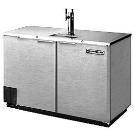 Enlarge Beverage-Air Kegerator DD50-S Two Keg Beer Cooler - All Stainless Steel