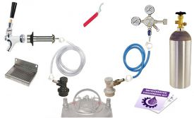 Enlarge Kegco Deluxe Homebrew Kegerator Refrigerator Conversion Kit