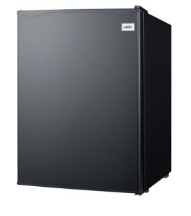 Enlarge Summit FF29B Compact Auto Defrost All-Refrigerator- 2.4 Cu. Ft., Black