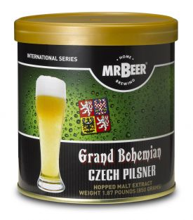 Enlarge Mr Beer Grand Bohemian Czech Pilsner Brew Pack