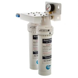 Enlarge Ice O-Matic IFQ2 Water Filtration System - Twin Filter Manifold