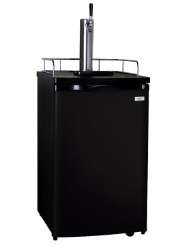 Enlarge Kegco K199B-1 Full Size Kegerator with Black Cabinet and Door