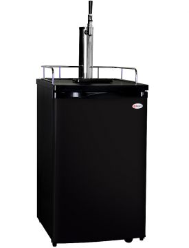 Enlarge Kegco K199B-G Guinness® Dispensing Kegerator with Black Cabinet and Door