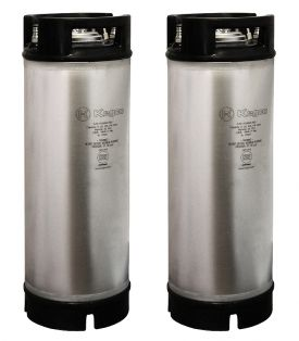 Enlarge Kegco Kombucha Kegs - Ball Lock 5 Gallon Rubber Top - Brand New - Set of 2
