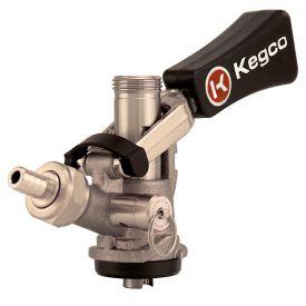 Enlarge Beer Keg Taps Couplers S System Ergonomic Lever Handle Stainless Steel Probe - Kegco KTS98S-W