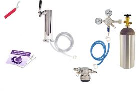 Enlarge Kegco Low Profile Standard Tower Kegerator Conversion Kit