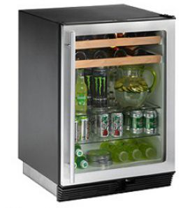 Enlarge U-Line 1075BEVS-00 Beverage Center - Field Reversible