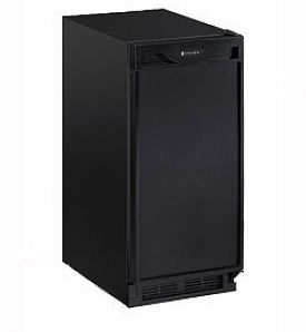 Enlarge U-Line 1115RB-00 1000 Series 3.3 Cu. Ft. Refrigerator - Black Cabinet with Black Door