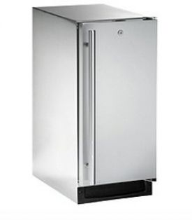 Enlarge U-Line 2115RSOD-00 3.3 Cu. Ft. Outdoor Refrigerator - Stainless Steel Cabinet with Stainless Steel Door - Right Hinge