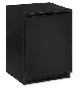 Enlarge Scratch & Dent - U-Line 2175RCB-00 2000 Series 5.2 Cu. Ft. Refrigerator - Black Cabinet with Black Door