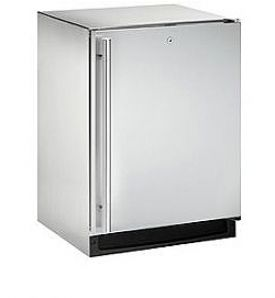 Enlarge U-Line 2175RSOD-01 5.4 Cu. Ft. Outdoor Refrigerator - Stainless Steel Cabinet with Stainless Steel Door - Left Hinge