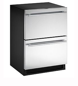 Enlarge U-Line 2275DWRCS-00 5.3 cf Drawer Refrigerator - Stainless Steel Doors