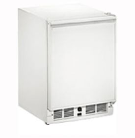 Enlarge U-Line 29RWH-15 3.3 cf Built-in Refrigerator w/Lock - White Cabinet with White Door - Left Hinge