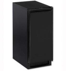 Enlarge U-Line BI2115B-00 2000 Series Built-in Ice Maker - Black Cabinet with Black Door