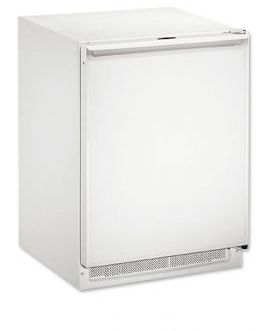Enlarge U-Line CO2175FW-00 2000 Series Combo Refrigerator & Ice Maker - White Cabinet with White Door