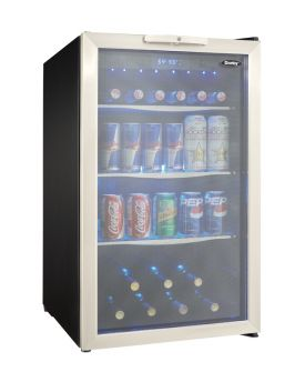 Enlarge Danby DBC039A1BDB Beverage Center (124 cans)