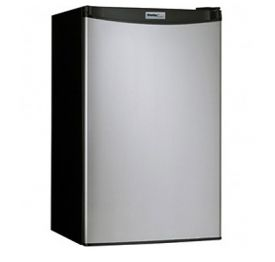 Enlarge Danby DCR88BSLDD 3.2 Cubic Foot Counterhigh Compact Refrigerator - Black Cabinet with Stainless Steel Door