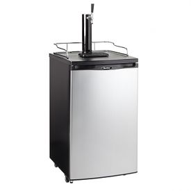 Enlarge Danby DKC146SLDB Full Size Kegerator - Black Cabinet with Stainless Steel Door
