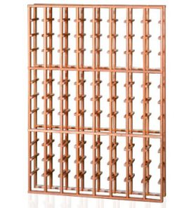 Enlarge Redrack 8 Column 96 Individual Bottle Redwood Modular Wine Rack