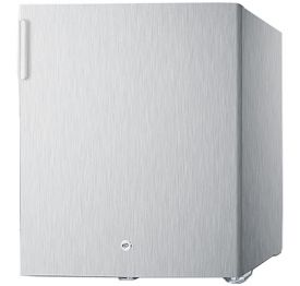 Enlarge Summit FFAR22LCSS 1.6 Cu. Ft. Compact Refrigerator - Stainless Steel