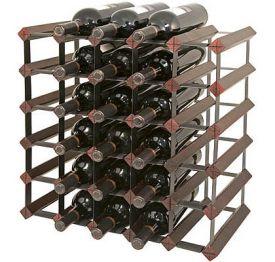 Enlarge Bordex 30 Bottle Wine Rack - Cherry Finish