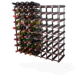 Enlarge Bordex 72 Bottle Wine Rack - Cherry Finish