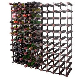 Enlarge Bordex 110 Bottle Wine Rack - Cherry Finish