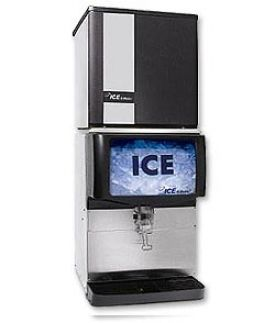 Enlarge Open Box - Ice O-Matic IOD150 Ice Cube Machine Dispenser - 150 lbs.