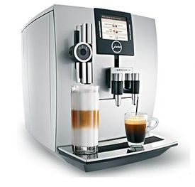 Enlarge Jura-Capresso Impressa J9 13592 One Touch Automatic Coffee Center -  TFT - Brilliant Silver