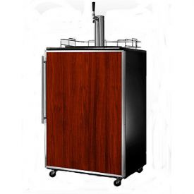 Enlarge Summit SBC490FR Free Standing Full-Size Kegerator w/ SS Frame for Custom Panel